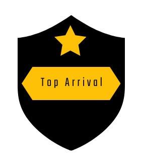 Top arrival
